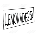abeka clip art lemonade sign with price