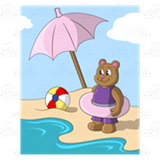 Bear at the Beach
