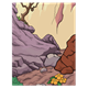 Ravine background