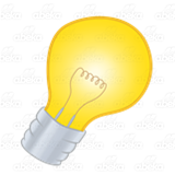 Bright Yellow Light Bulb