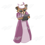 Nurse Raccoon