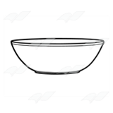 Orange Mixing Bowl