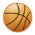 Basketball 7 Color PNG