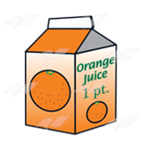 Orange Juice Carton 2