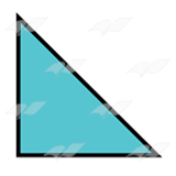 Teal Triangle 2