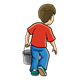 Boy with Pail