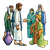Jesus and Young Ruler Color PNG