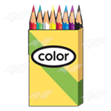 Pack of Colored Pencils