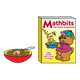 Mathbits Cereal Box with a red bowl and spoon