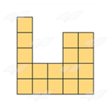 Yellow Block Shape 3
