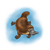 Brown Platypus Color PNG