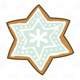 Snowflake Cookie