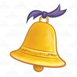Gold Christmas Bell