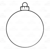Round Blue Ornament
