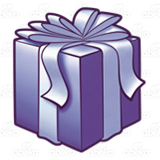 Dark Purple Present