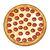 Whole Pizza Color PNG