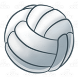 White Volleyball
