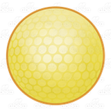 Yellow Golf Ball