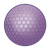 Purple Golf Ball Color PNG