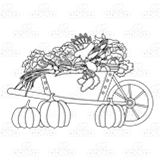 Wheelbarrow of Vegetables