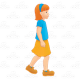 Girl Walking