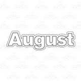 Month of August