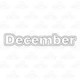 Month of December