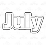 Month of July