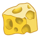 Chunk of Yellow Cheese