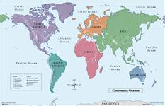 Geography Teaching Maps
