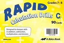 Rapid Calculation Drills C