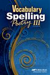 Vocabulary, Spelling, Poetry III