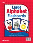 Large Alphabet Flashcards—Revised