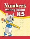 Numbers Writing Tablet K5