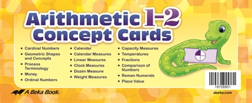 Arithmetic 1-2 Concept Cards—New Edition