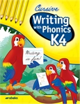 Writing with Phonics K4 Cursive