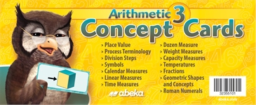 Arithmetic 3 Concept Cards—New