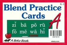Blend Practice Cards A