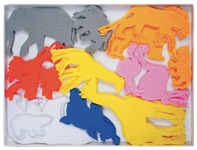 Felt Zoo Animals
