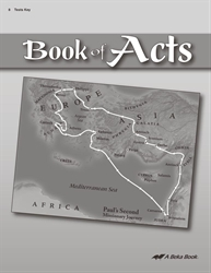Book of Acts Test Key