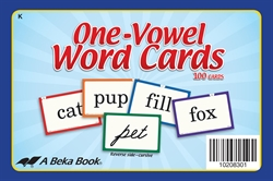 One-Vowel Word Cards