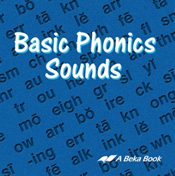 Basic Phonics Sounds CD Book (Replacement)