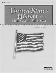 United States History: Heritage of Freedom Quiz Book