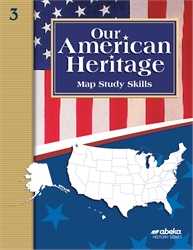 Our American Heritage Map Skills Book