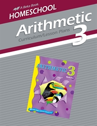 Homeschool Arithmetic 3 Curriculum Lesson Plans