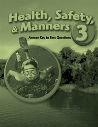 Health Safety and Manners 3 Answer Key