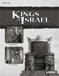 Kings of Israel Quiz and Test Book