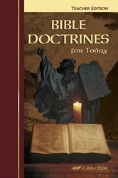 Bible Doctrines for Today Teacher Edition