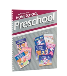 Homeschool Preschool Lesson Plans