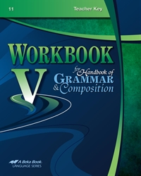 Workbook V for Handbook Teacher Key